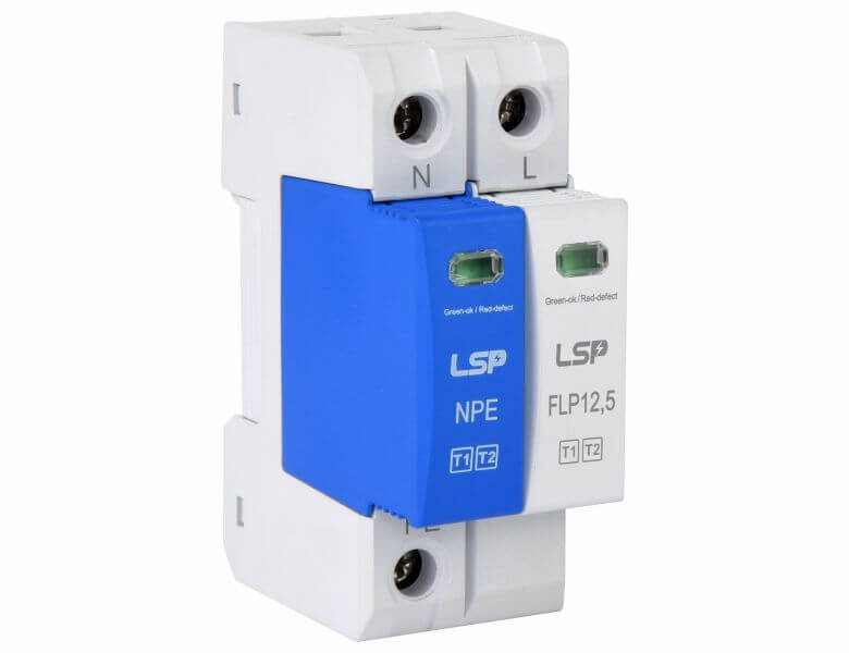 Surge-protection-device-FLP12,5-320-1S+1